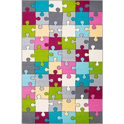Agnella Dywan funky top super puzzle cyklamen 160x220