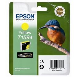 oryginalny ink c13t15944010, yellow, 17ml, epson stylus photo r2000 wyprodukowany przez Epson