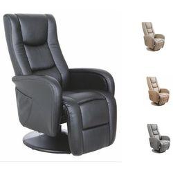 Fotel pulsar recliner z funkcją masażu i podgrzewania dostawa gratis marki Halmar