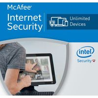 McAfee Internet Security 2017 Unlimited PC licencja na rok