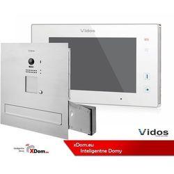 Vidos zestaw wideodomofonu skrzynka na listy monitor 7 cali s1201-sk+m1021w