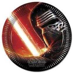 Procos Talerzyki urodzinowe star wars - the force awakens - 23 cm - 8 szt. (5201184862100)