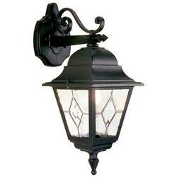 Elstead Zewnętrzna lampa ścienna norfolk nr2  kinkiet metalowa oprawa ogrodowa ip43 outdoor czarny, kategoria: lampy ogrodowe