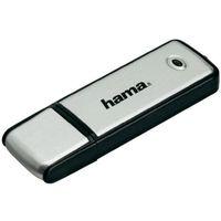 Pendrive usb 2.0  fancy, 16 gb, srebrny, 6 mb/s / 6 mb/s, otwierany marki Hama