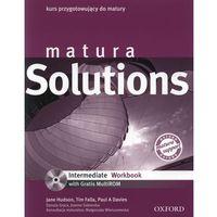 Matura Solutions Intermediate Workbook z płytą CD (ISBN 9780194550154)