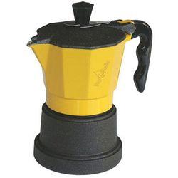 Kawiarka Top Moka TOP 3 filiżanki - czarno żółta, towar z kategorii: Zaparzacze i kawiarki