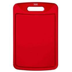 Silit - Deska do krojenia 38 x 25 cm - czerwona