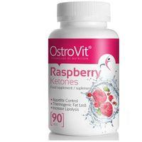 Ketony malinowe Raspberry Ketones 90 tabletek OstroVit (5902232610963)