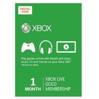 Xbox Live Gold 1 miesiąc subskrypcja