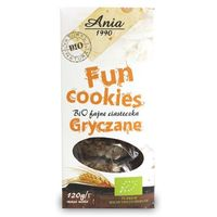 Ciasteczka Gryczane Fun Cookies bio 120g (5903453004838)