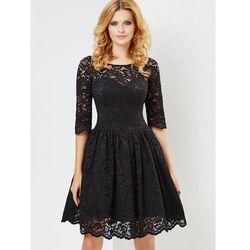 Sugarfree.pl Sukienka Audrey w kolorze czarnym, czarna