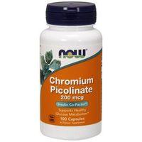 Now Foods Chrom Pikolinat Chromium Picolinate 100 kaps.
