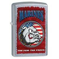 Zapalniczka Zippo US Marines Corp, Street Chrome