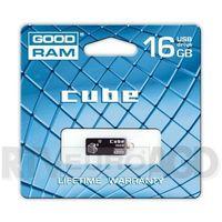GOODRAM CUBE 16GB USB 2.0 Czarny DARMOWA DOSTAWA DO 400 SALONÓW !! (5908267921654)
