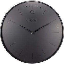 Zegar ścienny Glamour czarny, kolor czarny