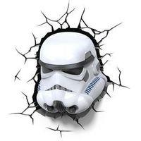 Kanlux  15218 - lampa dziecięca kinkiet 3d star wars stormtrooper led/3xaa (5907540963558)