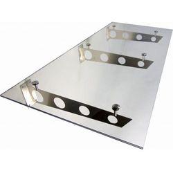 Daszek zadaszenie szklane drzwi 200 x 90 ii marki Metal-gum