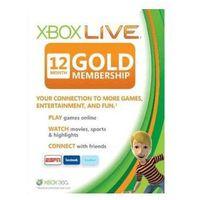 Xbox live 12 months gold membership card eu marki Microsoft