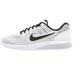 Nike Performance LUNARGLIDE 8 Obuwie do biegania Stabilność white/black (buty do biegania) od Zalando.pl