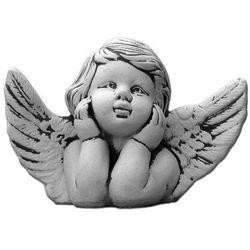 Figura ogrodowa betonowa aniołek 18cm