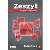 Interface 1 Zeszyt do języka angielskiego, oprawa broszurowa
