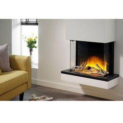 Flamerite fires - nowość 2021 Kominek do montażu ściennego flamerite fires exo 600 cb z nadbudową.efekt płomienia led nitra flame-20 kolorów ognia-promocja