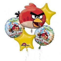 Bukiet balonów foliowych angry birds - 1 kpl. marki Amscan