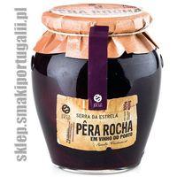Portugalska gruszka Rocha w winie Porto 700g