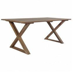 Ekologiczny stół ogrodowy navire z drewna tekowego marki Elior