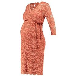 MAMALICIOUS MLMIVANA Sukienka etui cedar wood, towar z kategorii: Sukienki ciążowe
