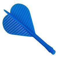 Piórko z trzonkiem plastikowym 2BA /niebieskie/