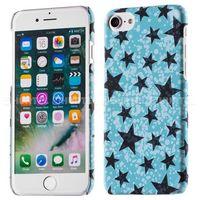 ARU fluorescencyjny pokrowiec świecący w ciemności Glow Case iPhone 7 niebieski - Niebieski (Futerał telef