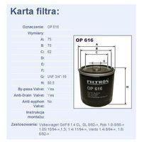 Filtr oleju op 616, marki Filtron