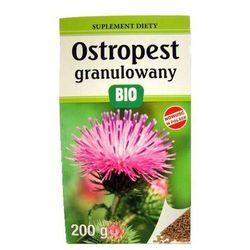 Look food (ostropest, sok z pokrzywy) Ostropest plamisty granulowany bio 200 g - look food
