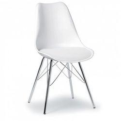 Krzesło konferencyjne christine, białe marki B2b partner