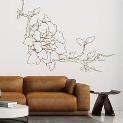 Wally - piękno dekoracji Szablon malarski gałąź kwiat 2110