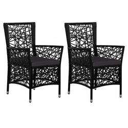Elior Zestaw nowoczesnych krzeseł ogrodowych - robin