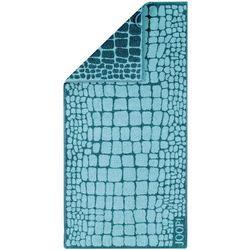 JOOP! Ręcznik Gala Croco Lagune, 50 x 100 cm