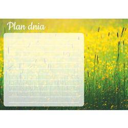 Tablica magnetyczna suchościeralna plan dnia trawy 364