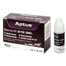 Orion pharma  aptus sentrx eye gel - krople do oczu dla psa, kota i in.zwierząt fiolka x 3ml, kategoria: piel