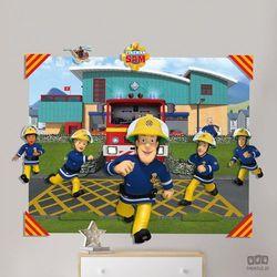 Dekoracje ścienne 3D Strażak SAM 44609, 44609
