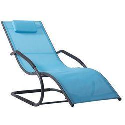 Leżak hamakowy, Niebieski WAVELNG1