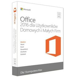 Microsoft Office Mac Home & Business 2016 EuroZone ESD PL - oferta (d5d3de4233ef2771)
