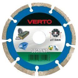 Tarcza do cięcia VERTO 61H2S8 180 x 22.2 mm diamentowa segmentowa
