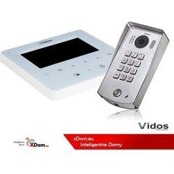 Zestaw wideodomofonu cyfrowego z szyfratorem duo s1311d_m1022w marki Vidos