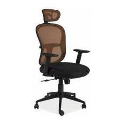 Signal meble Fotel q-116 pomarańczowo-czarny - zadzwoń i złap rabat do -10%! telefon: 601-892-200