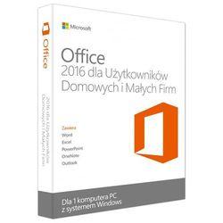 Microsoft Office Home and Business 2016 EuroZone ESD PL, kup u jednego z partnerów