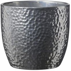 Sk soendgen keramik Osłonka doniczki boston śr. 21 cm srebrna (4006063252185)