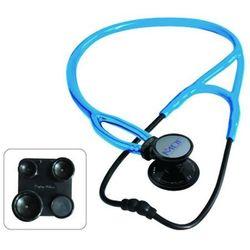 Stetoskop kardiologiczny MDF ProCardial ERA 797X lekki 6w1 - czarno-niebieski z kategorii Stetoskopy