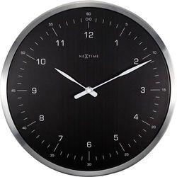 Zegar ścienny 60 minutes czarny by marki Nextime